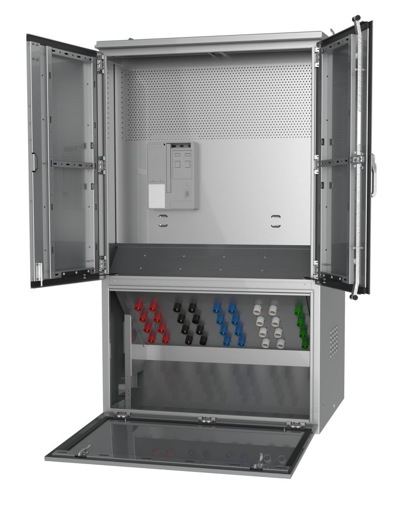 Electrical Tap Box Generator Docking Station Connection Cabinet 4 Wire To Breaker Wiring Ffcc P2